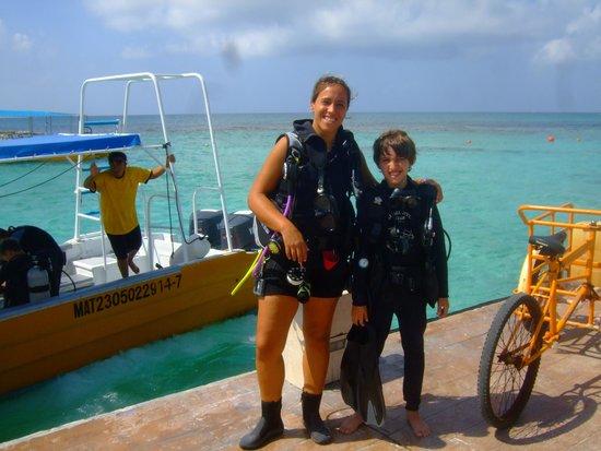 Dressel Divers: Con Laura preparados para Buble making