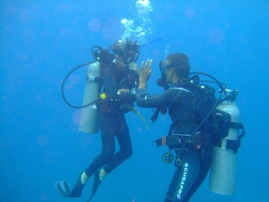 Dressel Divers: Con David. Primera inmersion