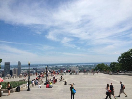 Mount Royal Park: Views
