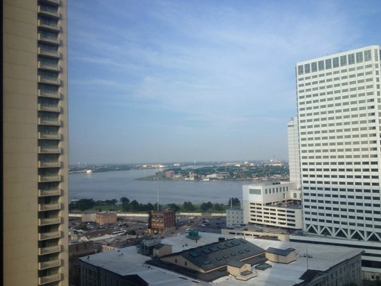 Sheraton New Orleans Hotel: View from 10th floor