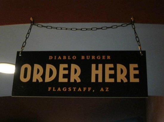 Diablo Burger: ORDER