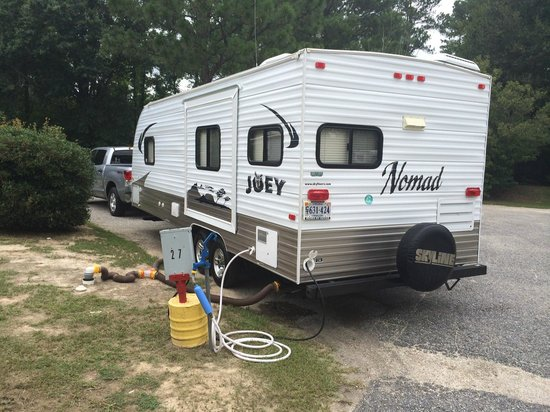 Lumberton I-95 KOA RV Park: Our site