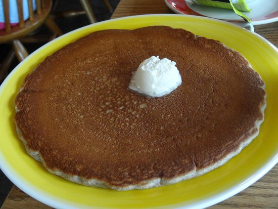 Running Bear Pancake House: buckwheat pancake