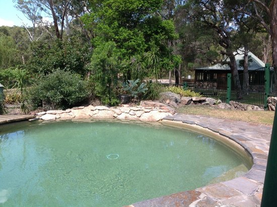 Eaglereach Wilderness Resort : A lovely refreshing dip in the pool, was great after our bush walk around the side of the mounta