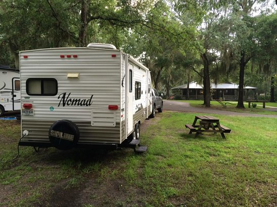 Country Oaks Campground & RV Park: Our Site