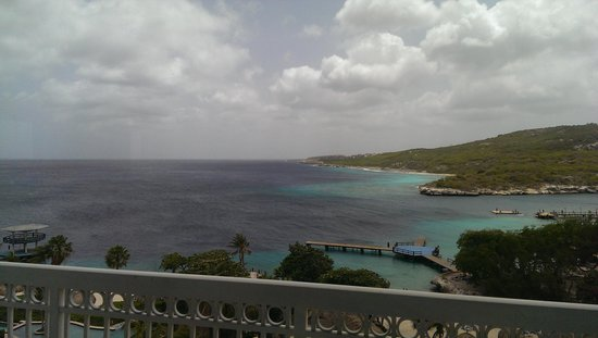 Hilton Curacao: view from our balcony