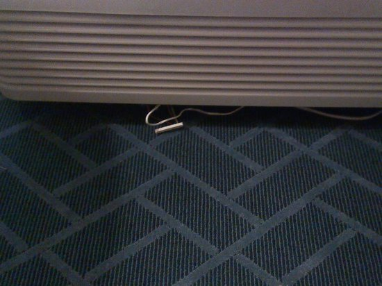 Sheraton Lake Buena Vista Resort: Wires under air conditioner