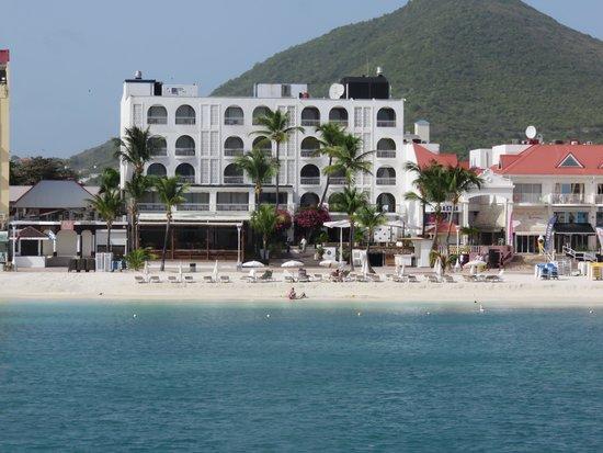 Holland House Beach Hotel : From Ocean