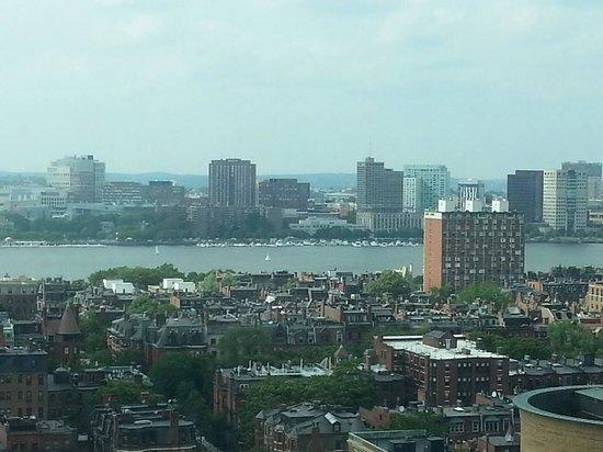 Sheraton Boston Hotel: View from my hotel room.