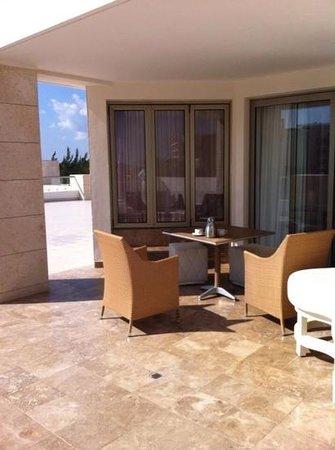 Beloved Playa Mujeres: upgraded room - huge terrace with hot tub