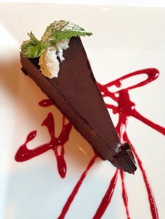 Centerbrook, CT: Great raspberry choc cake
