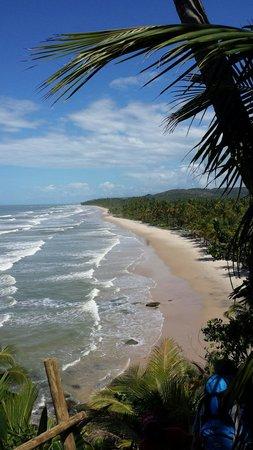 Itacarezinho Beach : Chegando em itacarezinho pela trilha...