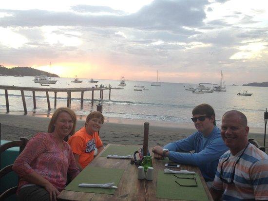 The Beach House Restaurant and Bar: dinner