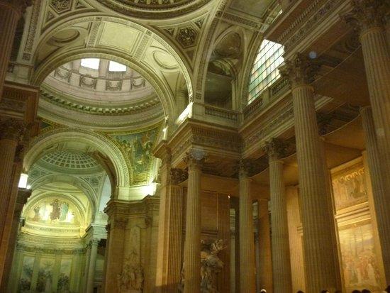 Panthéon: Interior del Panteón.