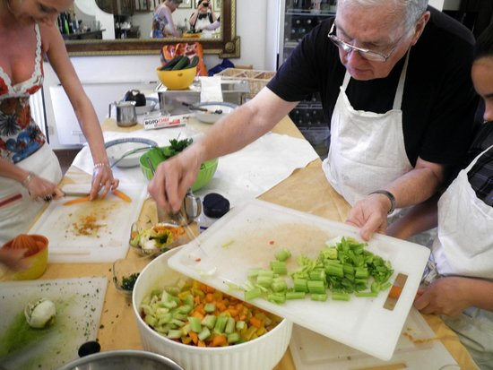 Cooking Vacations Italy: Prep