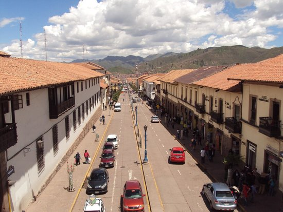 Plaza de Armas Cusco Hotel: View from the room