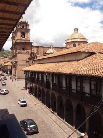 Plaza de Armas Cusco Hotel: View from the restaurant
