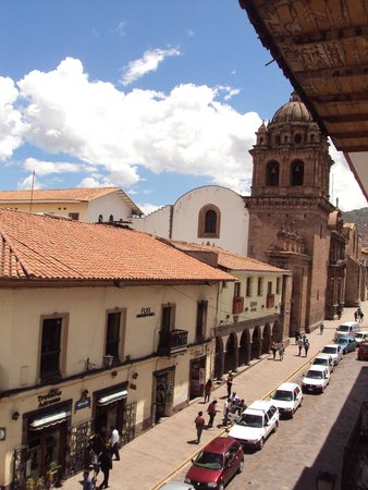 Plaza de Armas Cusco Hotel: More view from the room