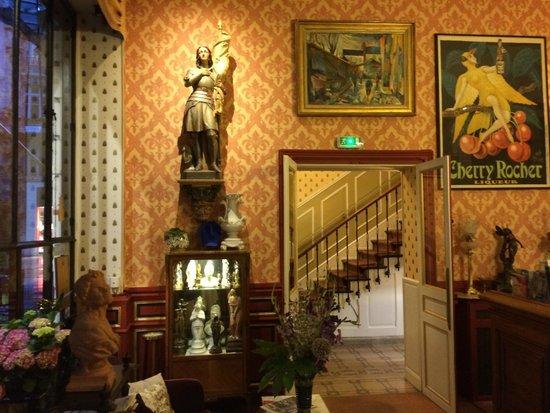 Hôtel de l'Abeille : Hotel de l'Abeille Lobby