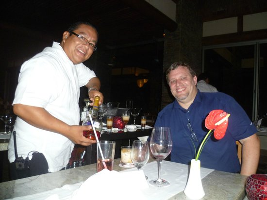 Grand Velas Riviera Maya: Lucca's special after dinner drink