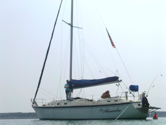 Two Brothers Sailing: Miss Alexandra