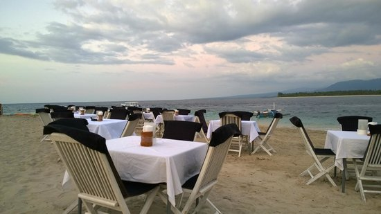 Scallywags Beach Club : Nice View
