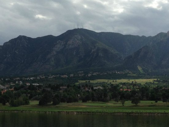Cheyenne Mountain Resort: View from the Beach area.