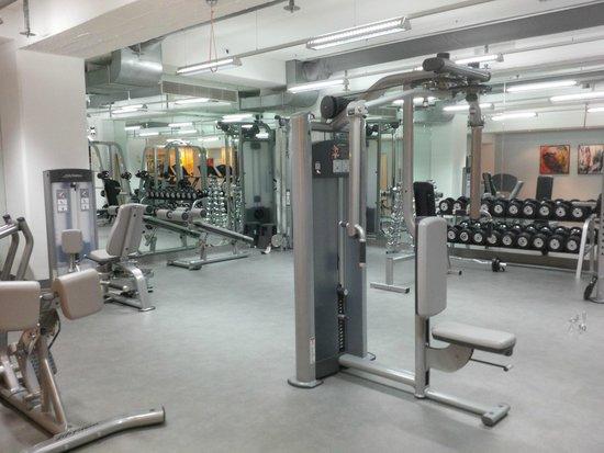 InterContinental Wien : Gym weights