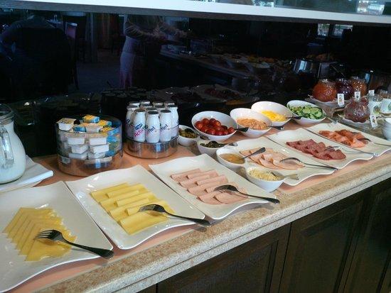 InterContinental Wien : Lounge Breakfast