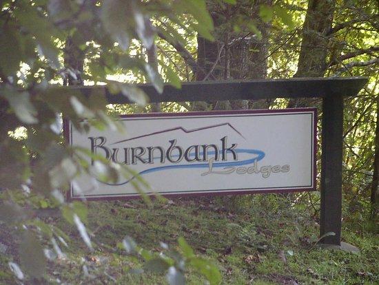 Burnbank Lodges: Entrance