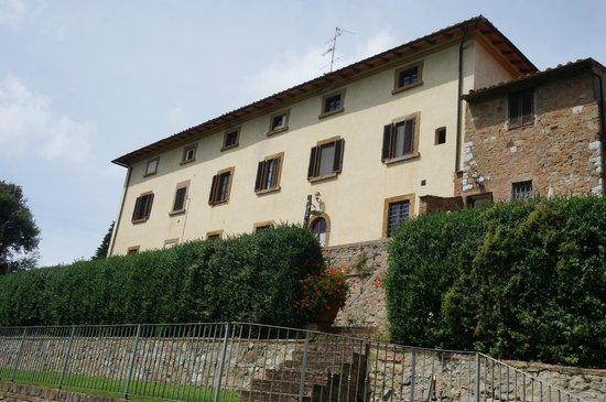 Azienda Agraria Il Castagno : View from the villa pool of the villa