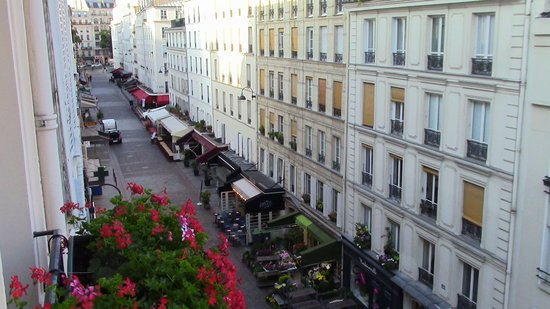 Grand Hotel Leveque: Our view from our room