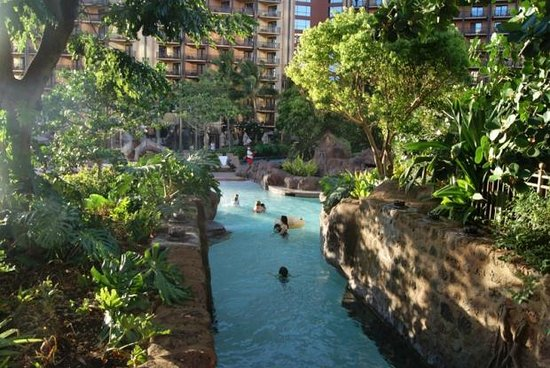 Aulani, a Disney Resort & Spa: The Main Pool at Disney Aulani Hotel