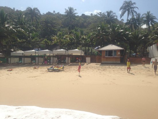 Andaman White Beach Resort : view from beach looking towards hotel