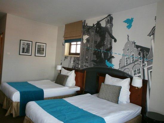 Hanza Hotel: Unusual decor