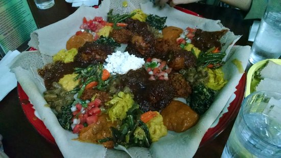 Mahider Ethiopian Restaurant & Market: $35 for 4 people, could really feed 6