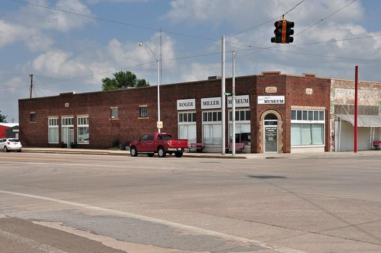 The Roger Miller Museum: View from the northwest corner of Roger Miller Boulevard and Sheb Wooley Avenue.