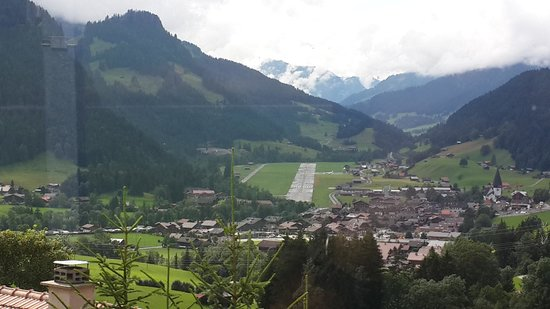 The Alpina Gstaad : view from room