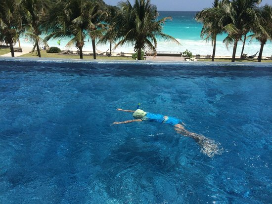 The Racha: swimming pool, my baby loves best