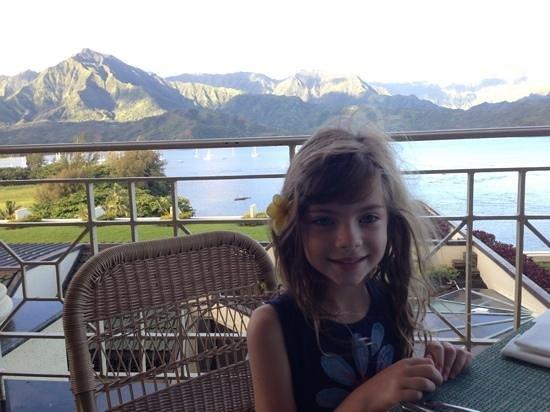 St. Regis Princeville Resort: breakfast view