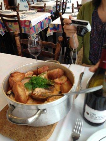 Restaurante Celeste : カルディラーダ
