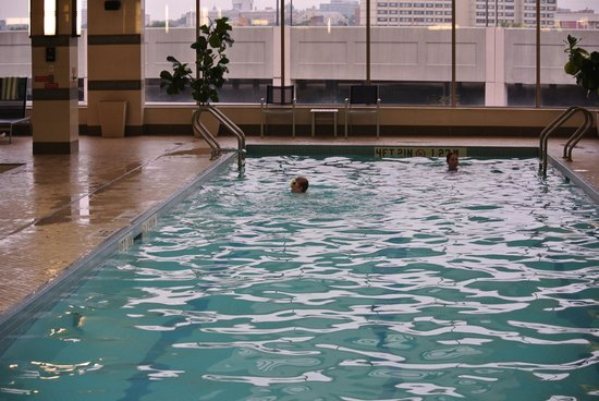 The Westin Jersey City Newport: the pool