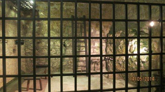 Eger Castle (Egri Var) : Torture room