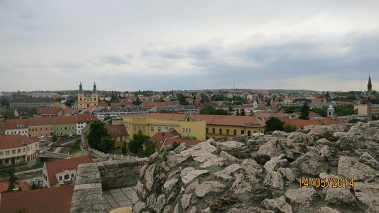 Eger Castle (Egri Var) : View