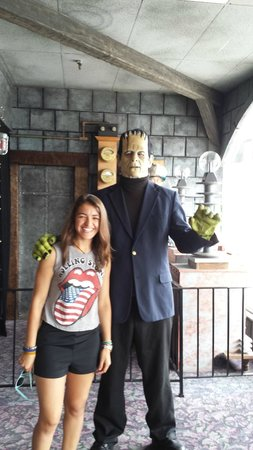 House of Frankenstein Wax Museum: Audrey & Frank Summer 2014 Lake George NY