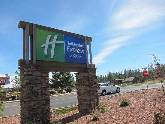 Holiday Inn Express Grand Canyon: 看板