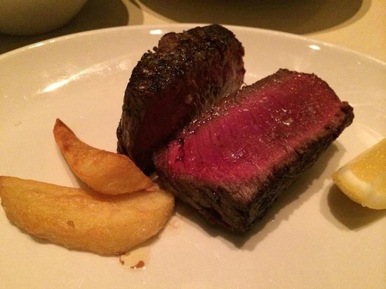Rockpool Bar & Grill : Delicious piece of fillet