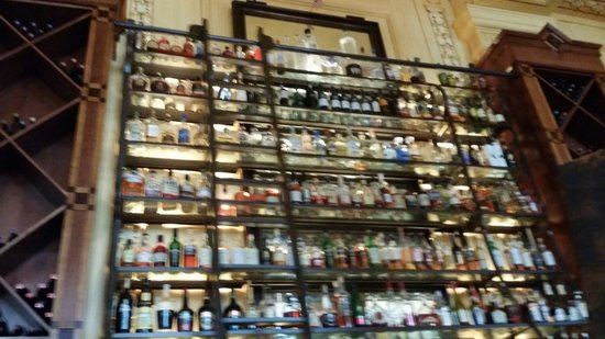 Pierpont's at Union Station: Top shelf is truly Top Shelf!