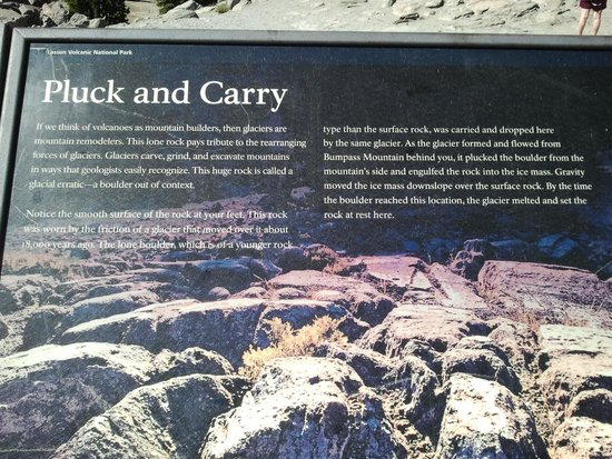 Lassen Volcanic National Park Hiking Trails : Intro to the volcanic site