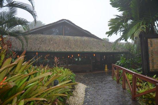 Tabacon Thermal Resort & Spa: Ресторан на территории отеля